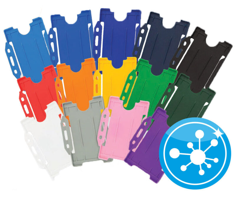 Security Pass Holder Plastic Antimicrobial