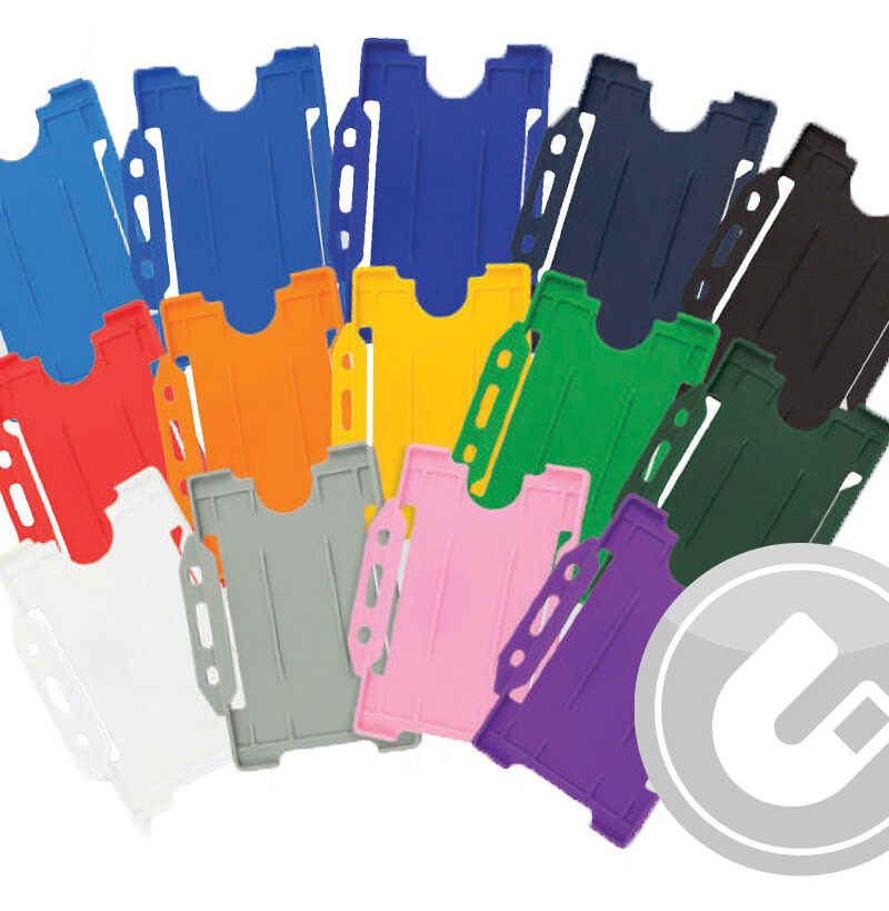 Security Pass Holder Plastic Detectable