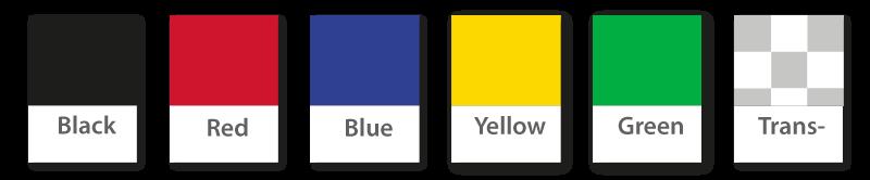 PVC Badge Holders